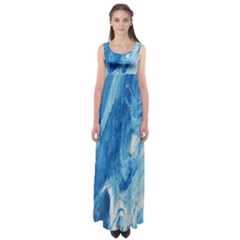 Water Empire Waist Maxi Dress