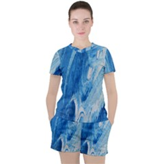 Water Women s Tee And Shorts Set