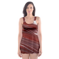 Ruby Pillars Skater Dress Swimsuit