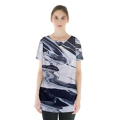 Space Drift 2 Skirt Hem Sports Top