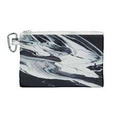 Space Drift 2 Canvas Cosmetic Bag (medium)