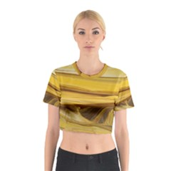 Sand Man Cotton Crop Top