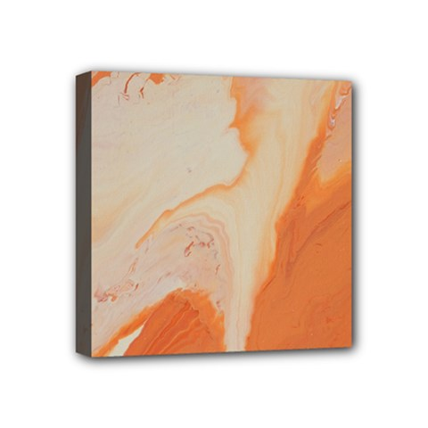 Fire Fall Mini Canvas 4  X 4  (stretched) by WILLBIRDWELL