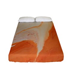 Fire Fall Fitted Sheet (full/ Double Size) by WILLBIRDWELL