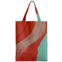 Clay And Water Zipper Classic Tote Bag