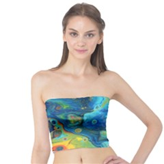 Fire Edge Nebula Tube Top