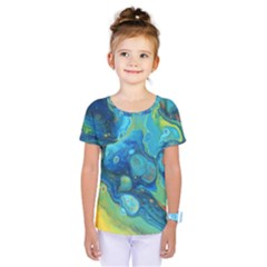 Fire Edge Nebula Kids  One Piece Tee