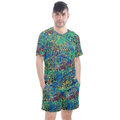Edge Of The Universe Men s Mesh Tee And Shorts Set by WILLBIRDWELL