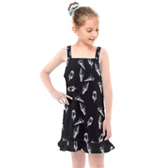 Ice Cream Pattern Kids  Overall Dress
