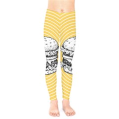 Pop Art Hamburger  Kids  Legging