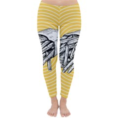 Pop Art French Fries Classic Winter Leggings