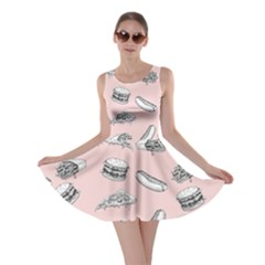 Fast Food Pattern Skater Dress