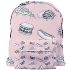 Fast Food Pattern Giant Full Print Backpack