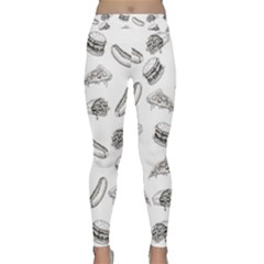 Fast Food Pattern Classic Yoga Leggings