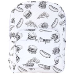 Fast Food Pattern Full Print Backpack
