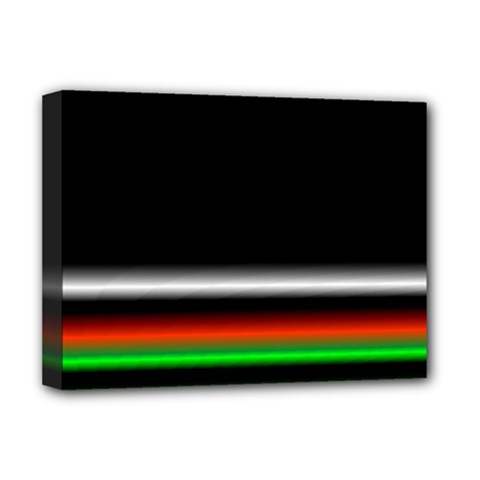 Colorful Neon Background Images Deluxe Canvas 16  X 12  (stretched)