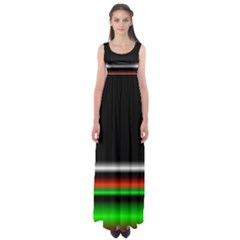 Colorful Neon Background Images Empire Waist Maxi Dress