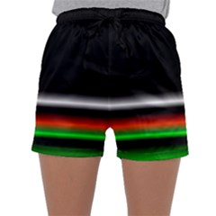 Colorful Neon Background Images Sleepwear Shorts