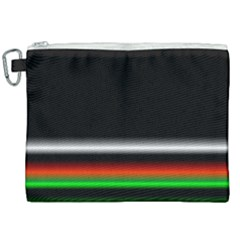 Colorful Neon Background Images Canvas Cosmetic Bag (xxl)