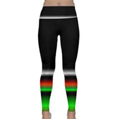 Colorful Neon Background Images Lightweight Velour Classic Yoga Leggings