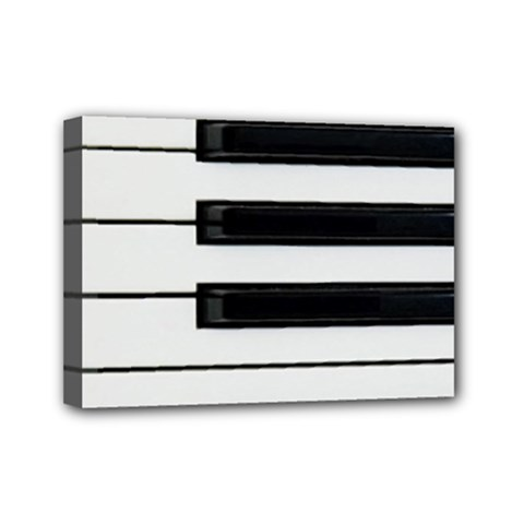 Keybord Piano Mini Canvas 7  X 5  (stretched)