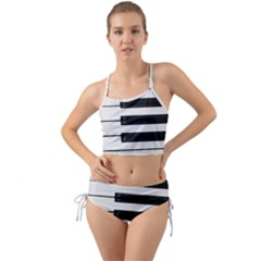 Keybord Piano Mini Tank Bikini Set