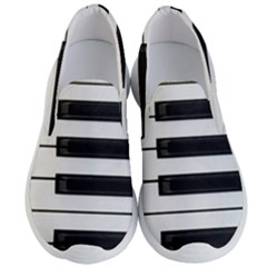 Keybord Piano Men s Lightweight Slip Ons