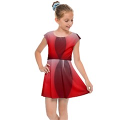 Red Eye Kids Cap Sleeve Dress