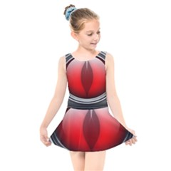 Red Eye Kids  Skater Dress Swimsuit