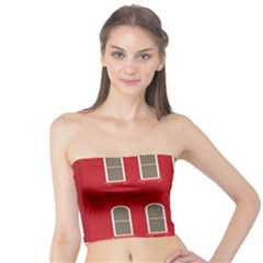 Red House Tube Top