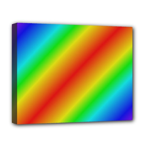 Background Diagonal Refraction Deluxe Canvas 20  X 16  (stretched)