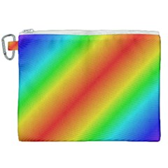 Background Diagonal Refraction Canvas Cosmetic Bag (xxl)