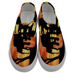Family Of African Elephants Men s Classic Low Top Sneakers