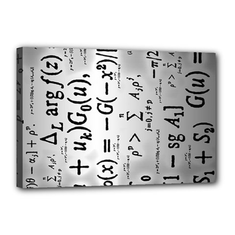 Science Formulas Canvas 18  X 12  (stretched)