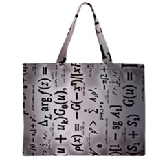 Science Formulas Zipper Mini Tote Bag by Samandel