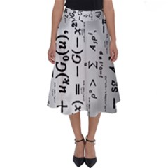 Science Formulas Perfect Length Midi Skirt
