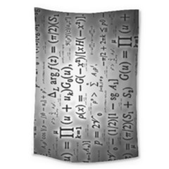Science Formulas Large Tapestry by Samandel