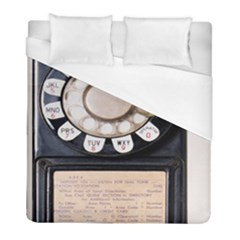 Vintage Payphone Duvet Cover (full/ Double Size)