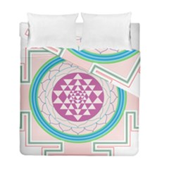 Mandala Design Arts Indian Duvet Cover Double Side (full/ Double Size)
