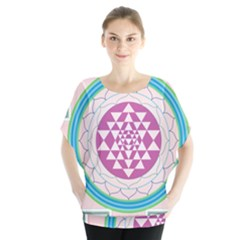 Mandala Design Arts Indian Blouse