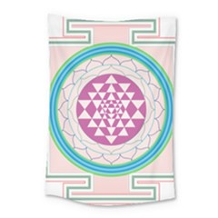 Mandala Design Arts Indian Small Tapestry