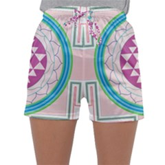 Mandala Design Arts Indian Sleepwear Shorts