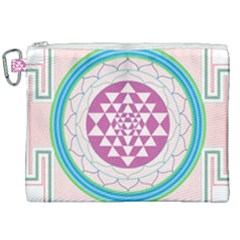 Mandala Design Arts Indian Canvas Cosmetic Bag (xxl) by Samandel