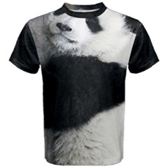 Panda Bear Sleeping Men s Cotton Tee