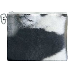 Panda Bear Sleeping Canvas Cosmetic Bag (xxxl)
