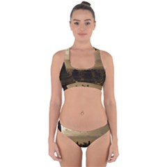 Borobudur Temple  Indonesia Cross Back Hipster Bikini Set