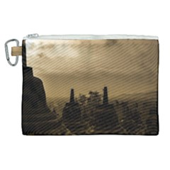Borobudur Temple  Indonesia Canvas Cosmetic Bag (xl)
