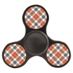 Smart Plaid Warm Colors Finger Spinner by ImpressiveMoments