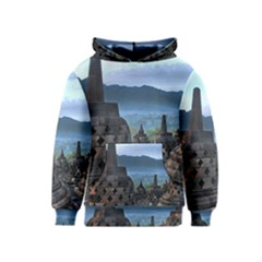 Borobudur Temple  Morning Serenade Kids  Pullover Hoodie