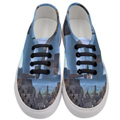 Borobudur Temple  Morning Serenade Women s Classic Low Top Sneakers